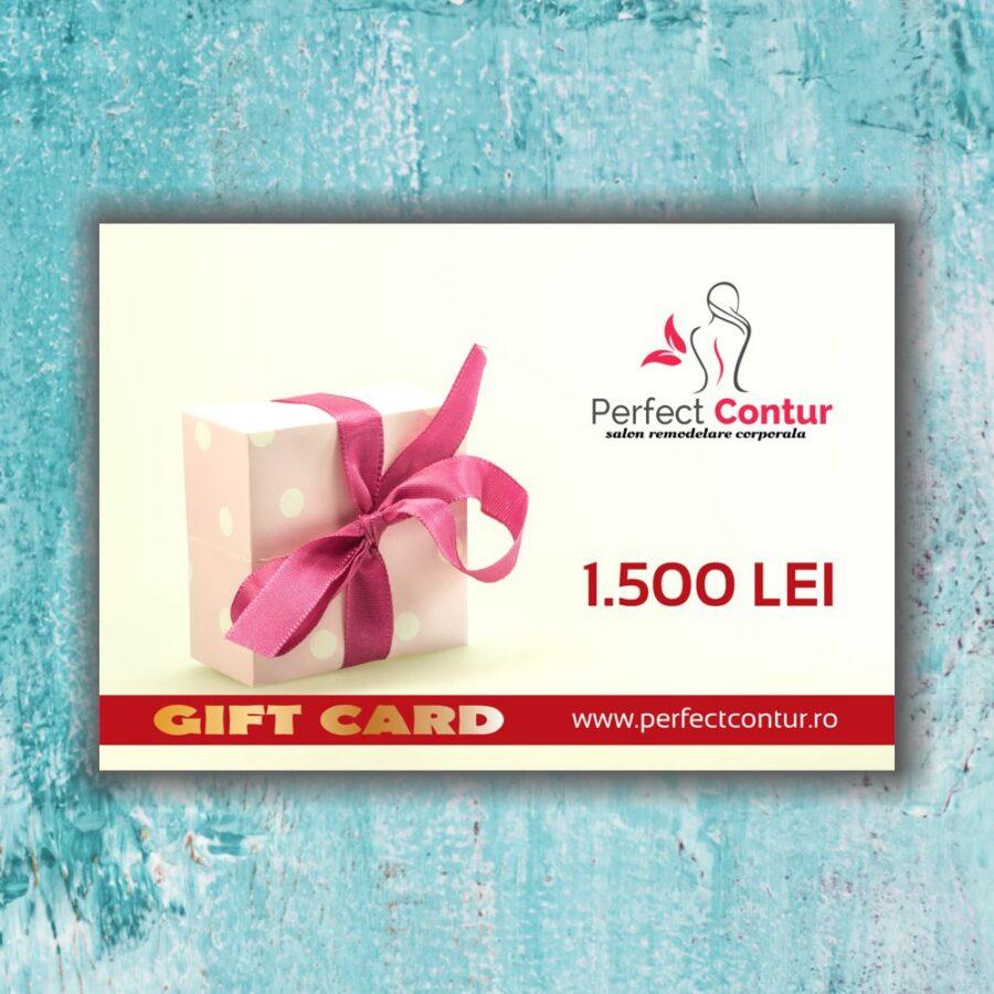 card cadou perfect contur 1500