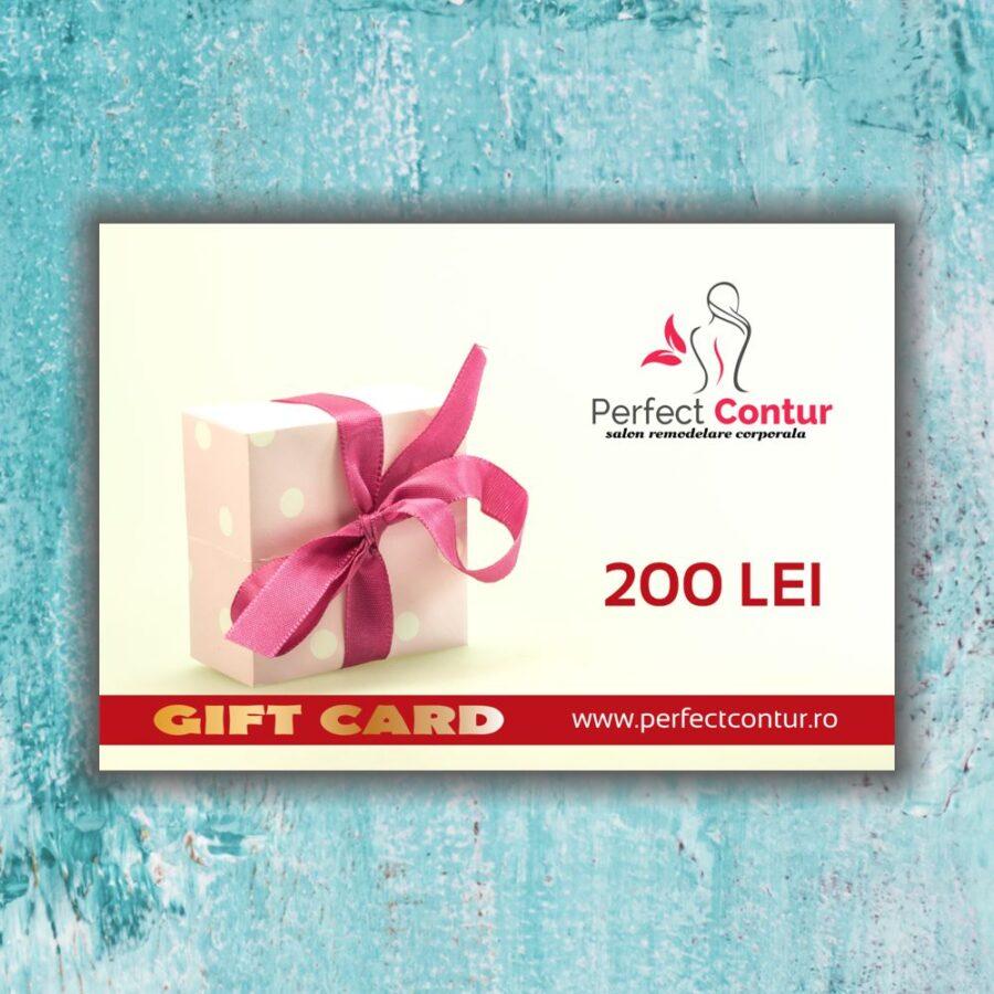 card cadou perfect contur 200