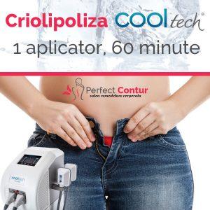 sedinta criolipoliza cooltech 1 aplicator 60 minute